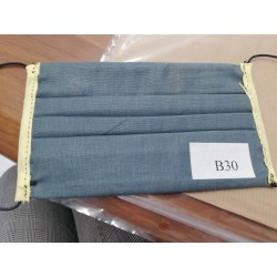 Mascherina Bimbo Blu con Stella - B30 - 2